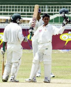 A 16-year-old Ashraful after scoring 114 on Test Debut in 2001.