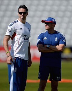 The relationship between Andy Flower and Kevin Pietersen remains a question for England.