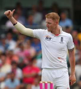 Shining Light...Ben Stokes is England's one bright spot from the Ashes tour.