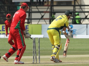 Australia's batsmen stumbled against the spin of Zimbabwe in their recent 3-wicket loss in Harare.
